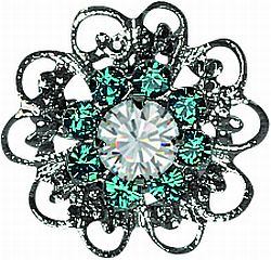 Crystal Flower Filigree