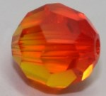 Fire Opal Round (32 facets)