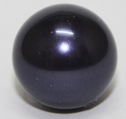 Dark Purple Round Pearl