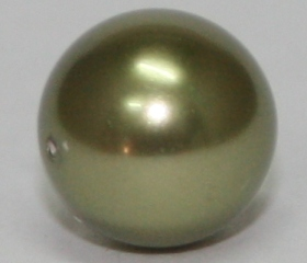 Light Green Round Pearl